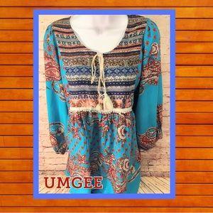 👚 UMGEE Boho Style Top